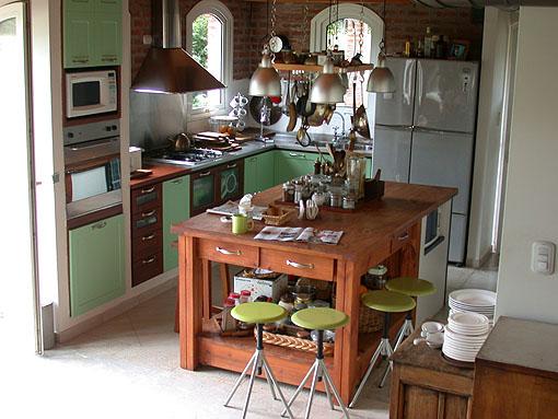 La casa for Ubicacion de cocina
